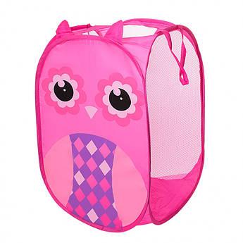 Корзина для игрушек M 5767 (Pink)