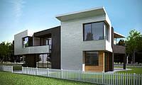 Трехмерная визуализация фасадов зданий 3д макс