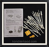 Кейк попс 18 шт (набор с палочками) метал., фото 4