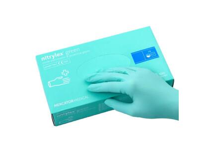 Нестерильные перчатки нитриловые MercatorMedical  L