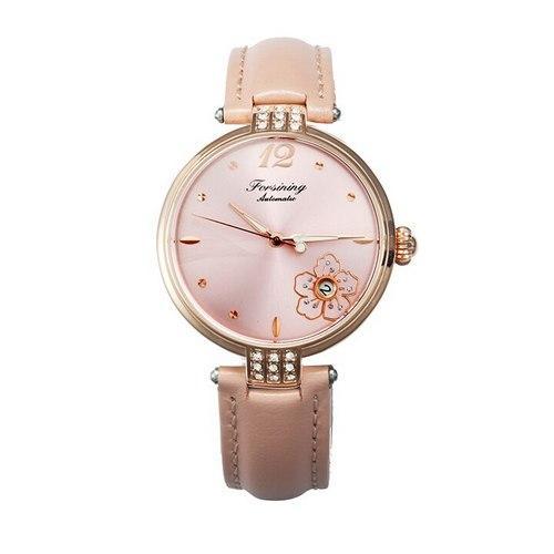 Часы  Женские Forsining 094 All Pink
