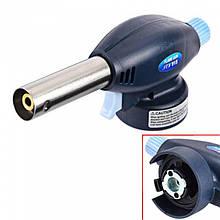 Портативний газовий різак, пальник Flame Gun 915 на цанговий балон