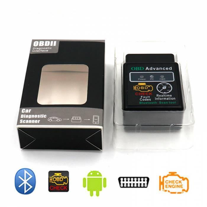 Elm327 Bluetooth автосканнер OBD2  V02H2-1