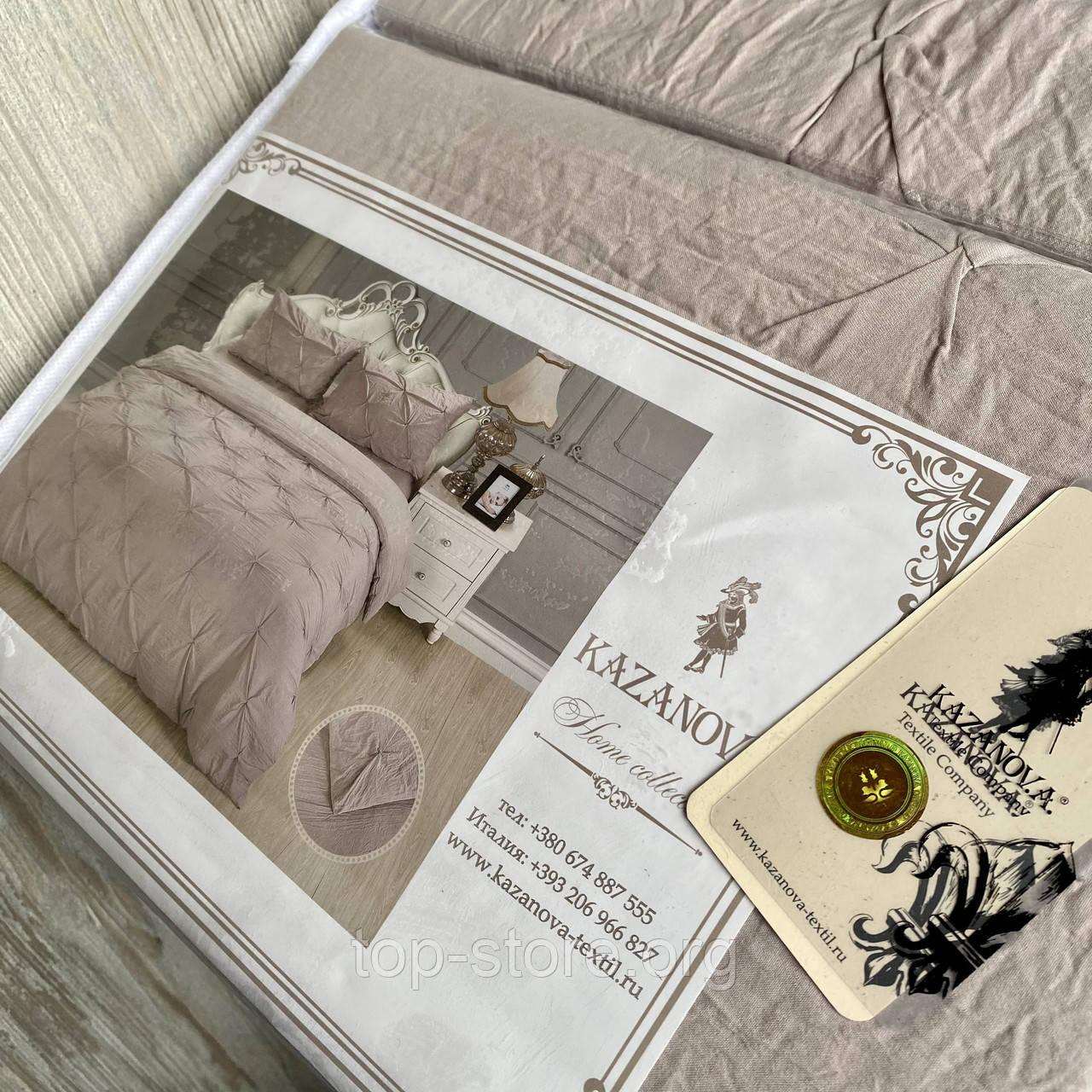 Постельное белье Евро размер. Rimbossa - Эффект объёма | Высокое качество.