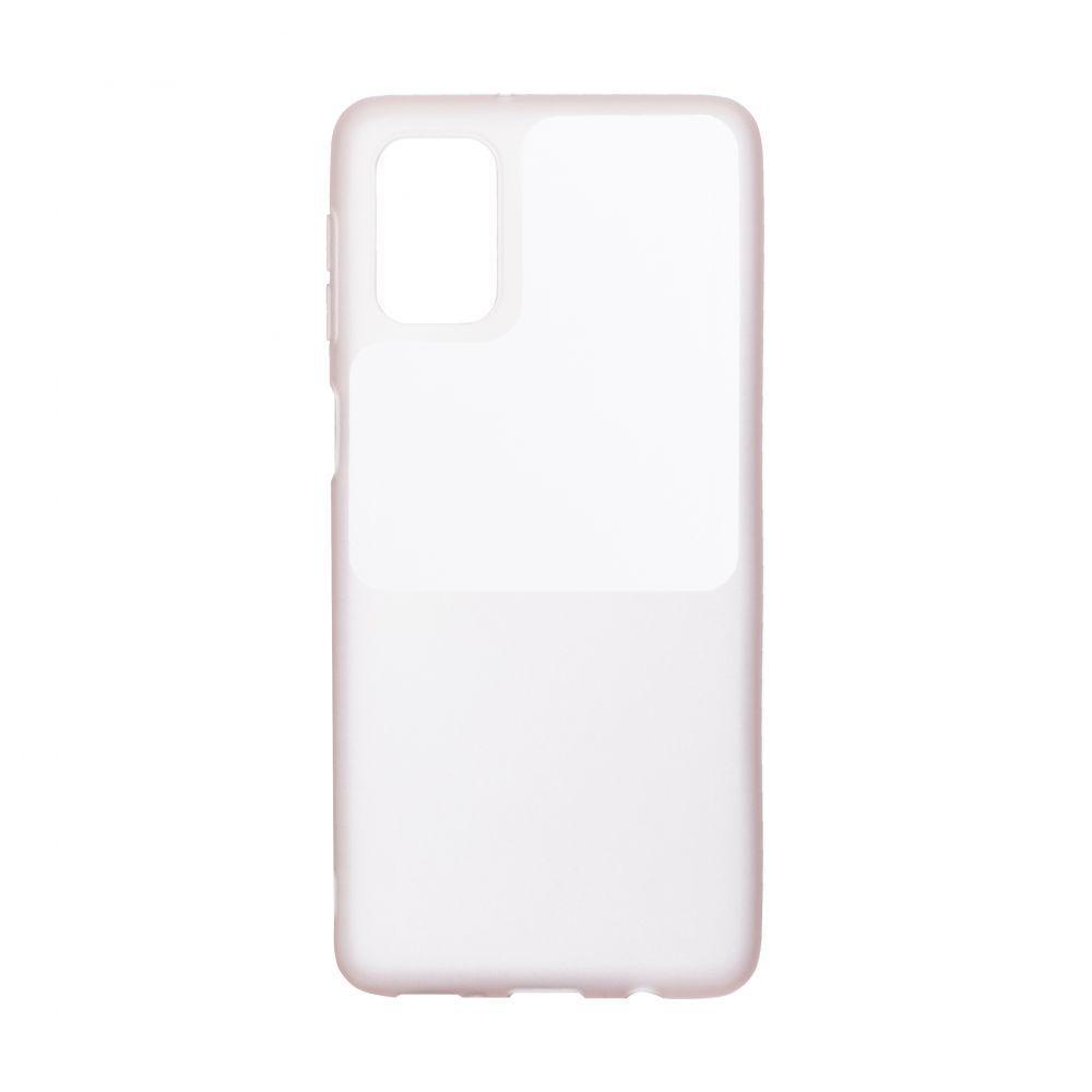 Чехол Bright Silicone for Samsung A31 Цвет Розовый