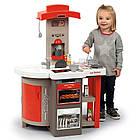 Детская интерактивная игровая кухня Tefal Opencook Smoby складная для детей, фото 4
