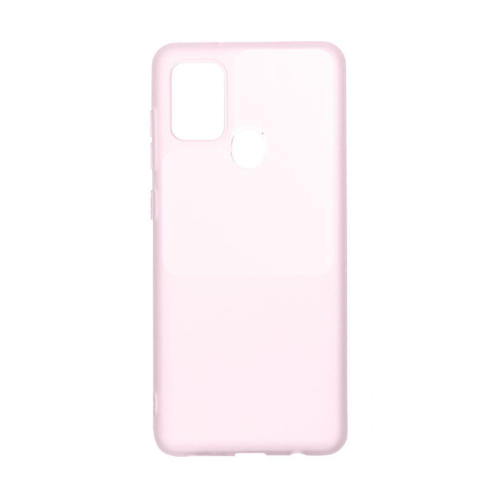Чехол Bright Silicone for Samsung A21s Цвет Розовый