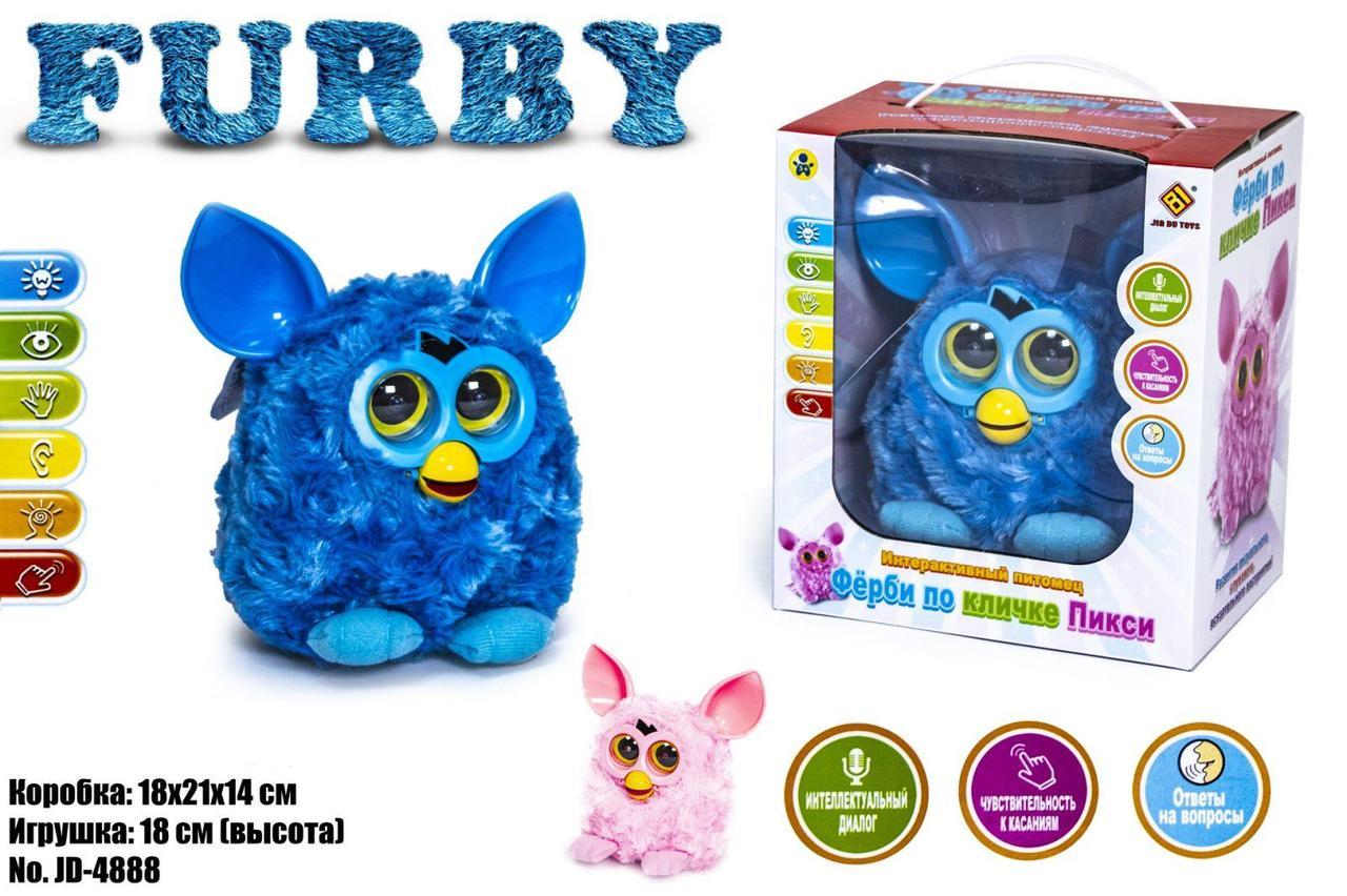 Интерактивная игрушка Фёрби JD-4888 СИНИЙ оптом