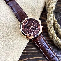 Мужские часы Megalith 0092M Brown-Cuprum-Brown, фото 3