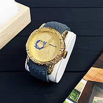 Чоловічий годинник Megalith 8041m Gray - Gold Dragon Sculpture, фото 2