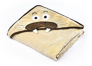 Детское махровое полотенце с уголком Sensillo Water Friends