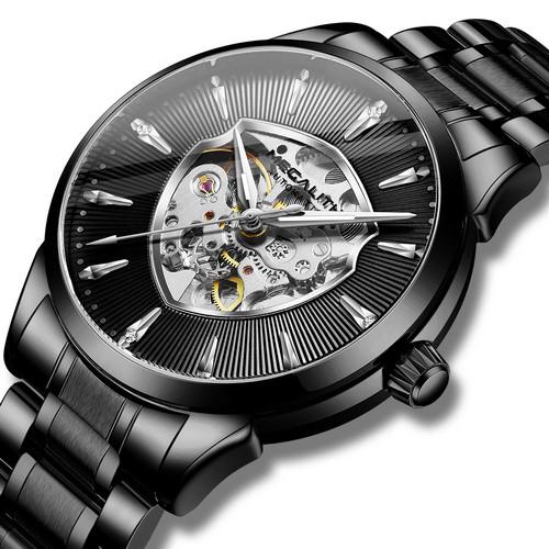 Мужские часы Megalith 8210M All Black
