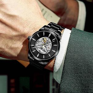 Мужские часы Megalith 8210M All Black, фото 2