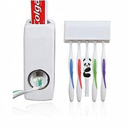 Диспенсер для зубної пасти та тримач зубних щіток M-187093