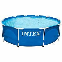 Intex 28200, каркасный бассейн 305 x 76 см Metal Frame Pool