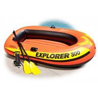 Intex 58332, надувная лодка Explorer 300 Set, фото 1