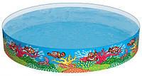 Bestway 55031, каркасный детский бассейн Рыбки, фото 1