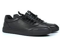 Кроссовки мужские кожаные демисезонные обувь больших размеров Rosso Avangard Ada Black Floto TPR BS, фото 1