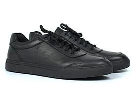Кроссовки мужские кожаные демисезонные обувь больших размеров Rosso Avangard Ada Black Floto TPR BS