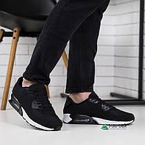 Кроссовки мужские черные, фото 3