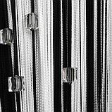 Шторы нити Радуга с квадратным стеклярусом №1+9, фото 2