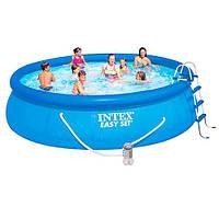 Intex 28166, надувной бассейн Easy Set
