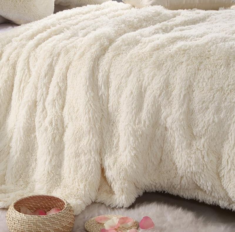 Меховое плотное одеяло «Травка», 220х240 см в расцветках