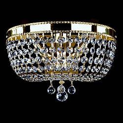 Кришталеве бра на 2 лампочки CIARA dia 350