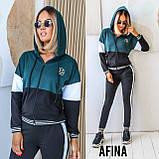 Жіночий спортивний костюм двійка батник і штани розмір: 48-50, 52-54, фото 5