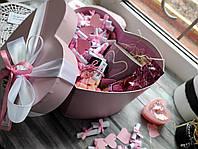 Коробка 100 причин кохання з сувенирами и солодощами, фото 1