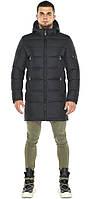 Графитовая куртка мужская теплая зимняя модель 35170 (ОСТАЛСЯ ТОЛЬКО 54(XXL)), фото 1