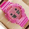 Популярные наручные спортивные часы Casio Shors GA-100 Pink 704