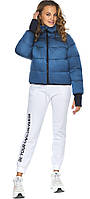 Аквамариновая куртка на девочку осенняя трендовая модель 26420, фото 1