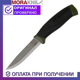 Нож Morakniv Companion MG S из нержавеющей стали Моракнайв цвет хаки