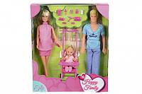 Кукольный набор Штеффи Счастливая семья Simba 5733200