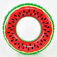 Star Toys F21598, надувной круг Арбуз, 90 см