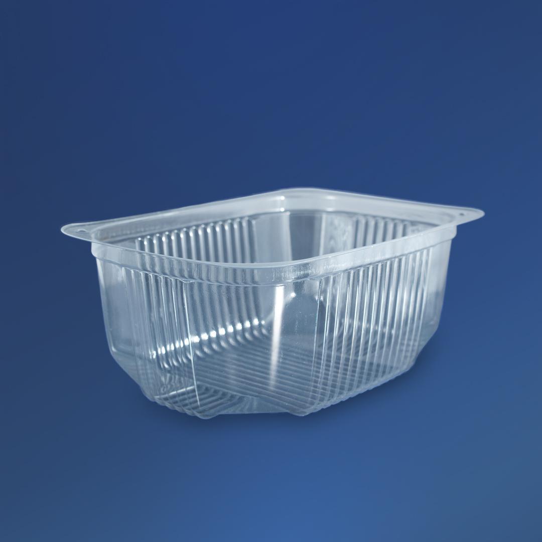 Упаковка для салатов и полуфабрикатов ПС-140, 180х130х68 мм, 1000 мл, 600 шт/уп.