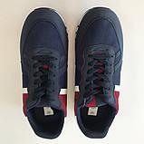 Кросівки чоловічі сині з червоним LaVento, фото 4