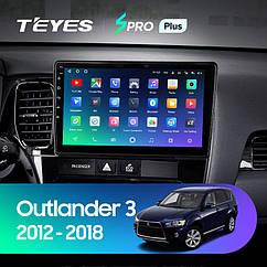 Штатная магнитола Teyes  Mitsubishi Outlander 3  2013-2020