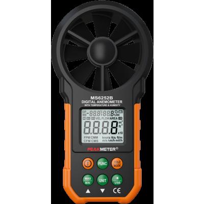Анемометр (з підключенням до ПК) Peakmeter PM6252B
