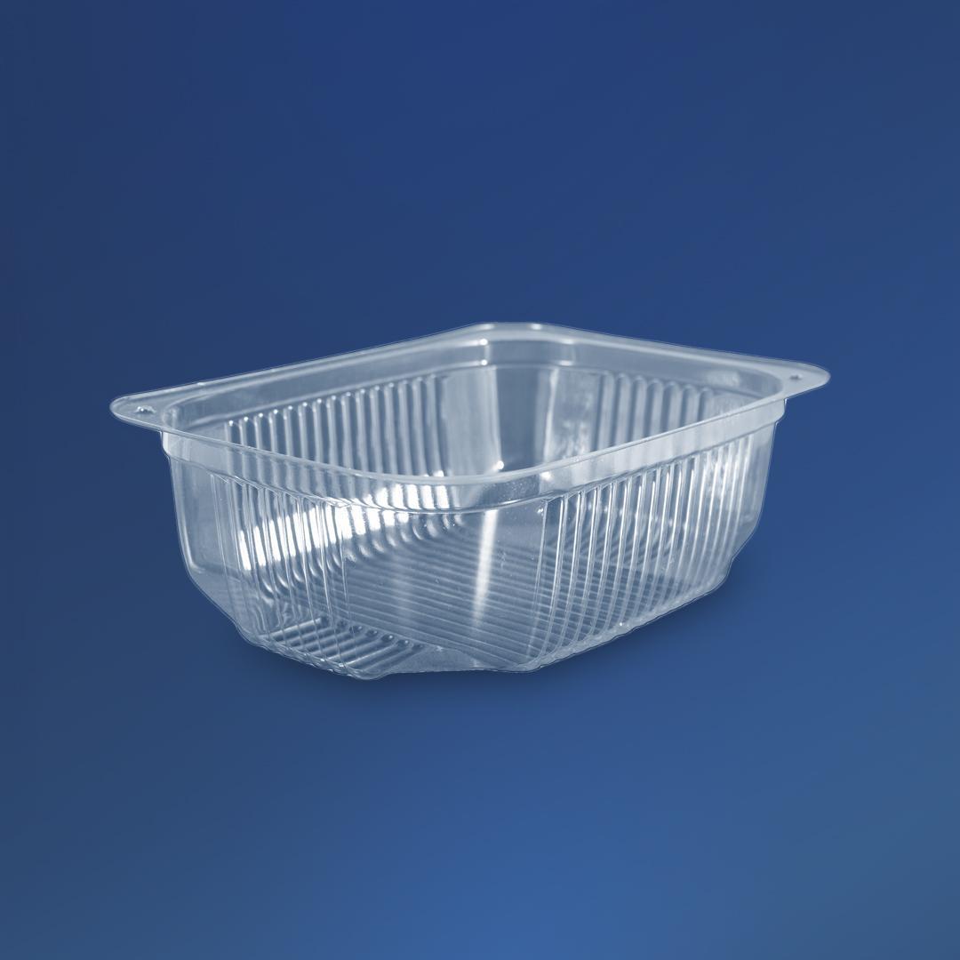 Упаковка для салатов и полуфабрикатов ПС-141, 180х130х60 мм, 750 мл, 600 шт/уп.