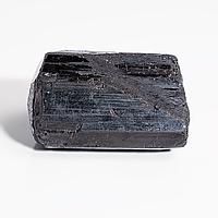 Коллекционный минерал шерл черный турмалин, 25 гр., 763ФГШ