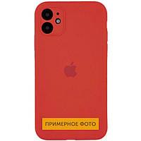 "Чехол Silicone Case Square Full Camera Protective (AA) для Apple iPhone XS (5.8""), фото 1"