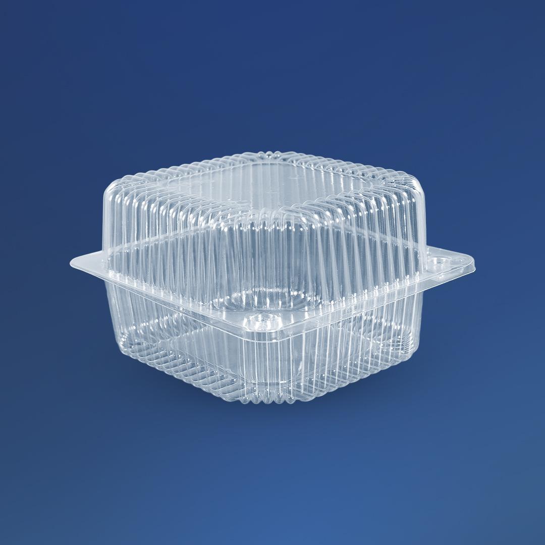 Универсальная упаковка для еды ПС-100, 910 мл, 135х130х77 мм, 500 шт/ящ.