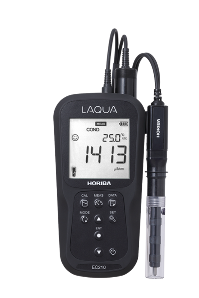 Портативний кондуктометр/TDS-метр/солемір HORIBA LAQUA EC210