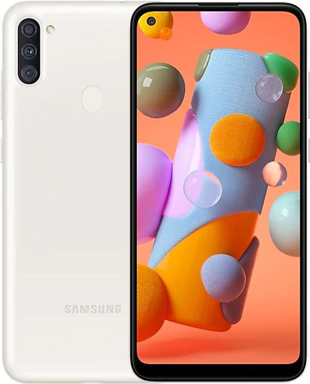 Смартфон Samsung Galaxy A11 A415F/DS 4/64GB White