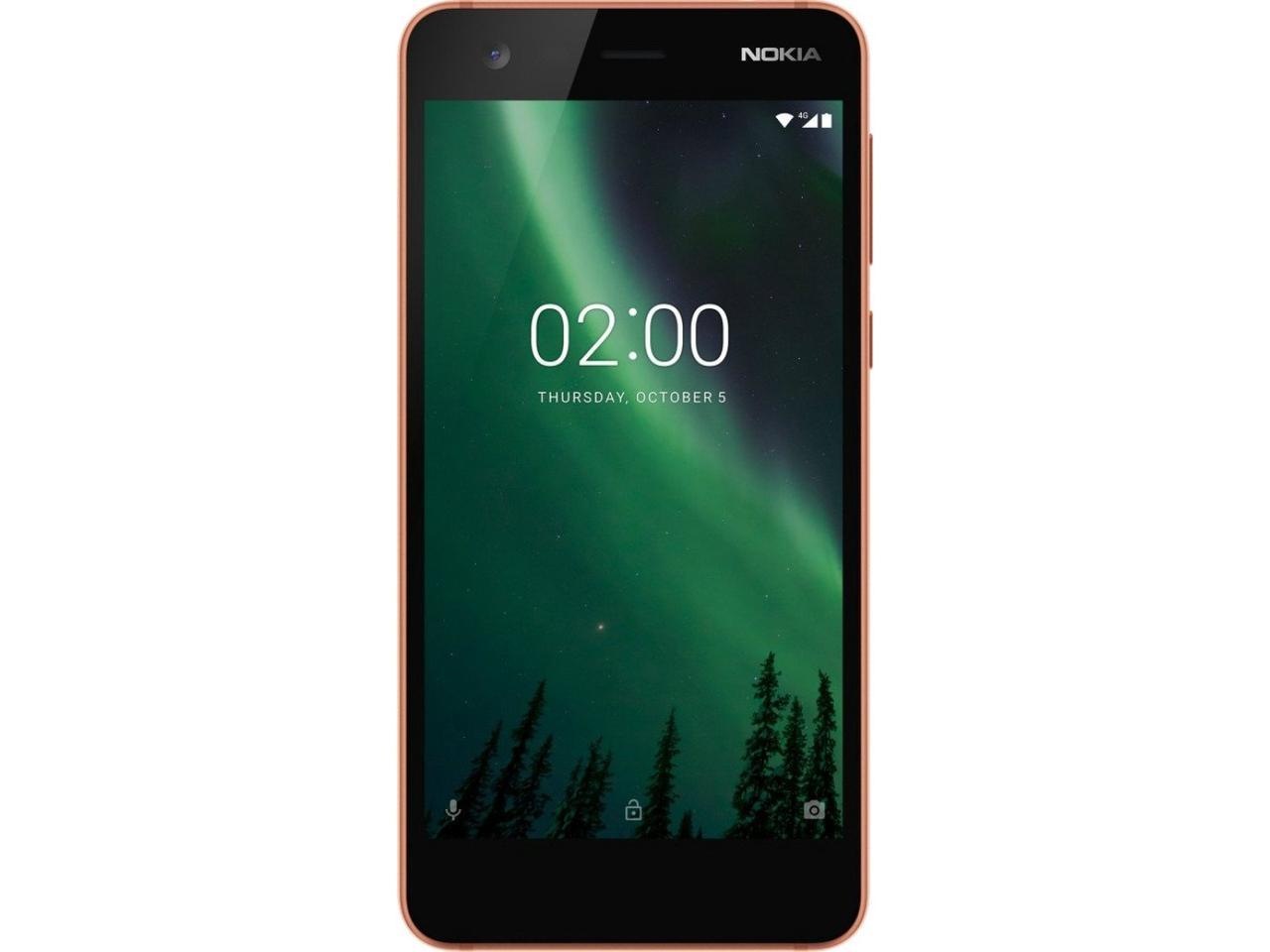 Смартфон Nokia 2 1/8GB 2SIM (TA-1035) Copper Уцінка