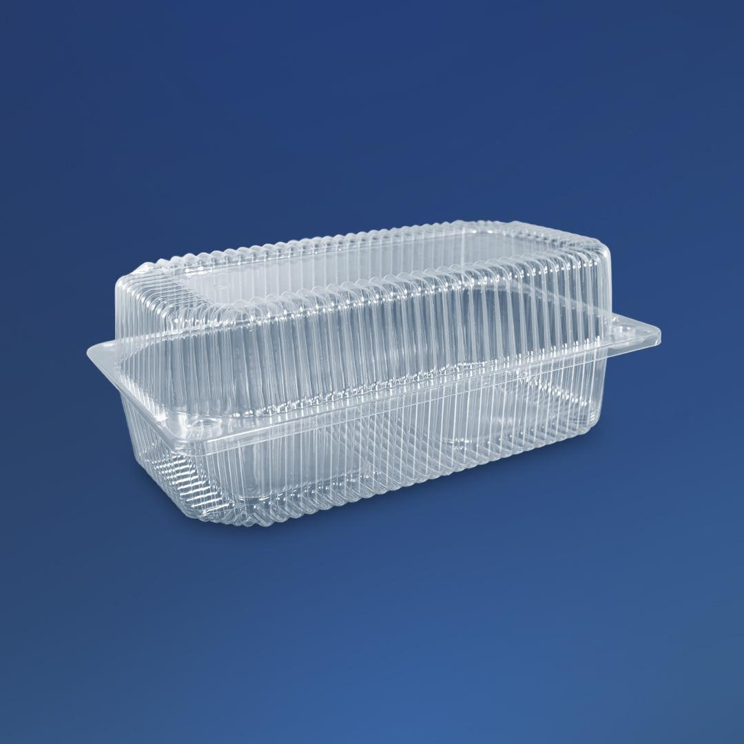 Универсальная упаковка для еды ПС-122 1700 мл, 230х130х87 мм, 500 шт/ящ.