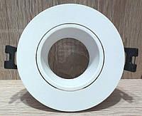 Вбудований світильник точковий Feron DL0375 Білий поворотний круглий, фото 1