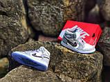 Air Jordan 1 Retro x Dior Grey (Топ якість) Осінь-Весна, Еврозима, Кроссівки, Чоловіче жіноче взуття, фото 5